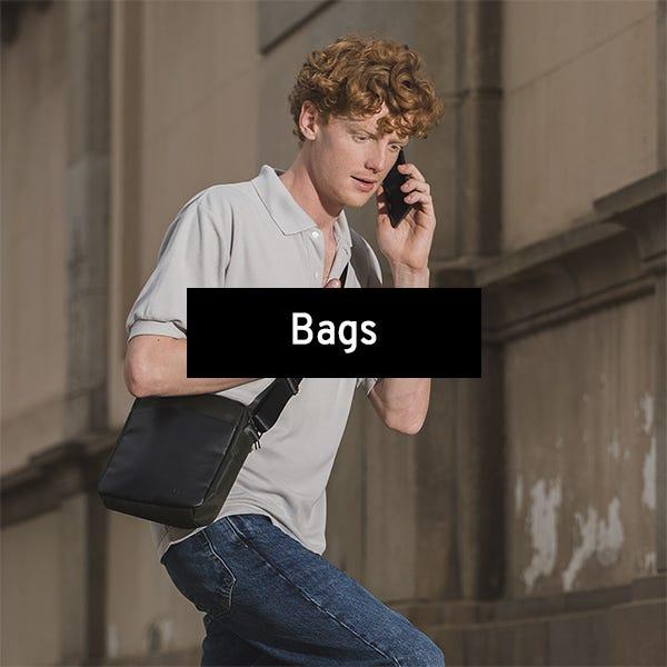 Bags for men by Misako