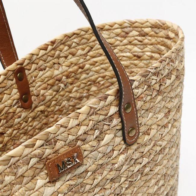 Cheap raffia bags on offer