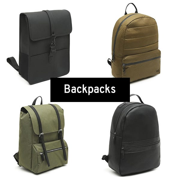 Backpacks for men by Misako
