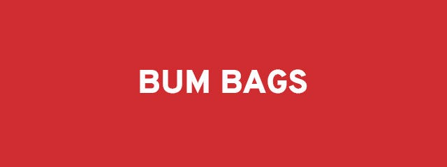 Bum bags on sale by Misako