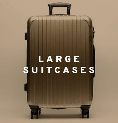 Large suitcases by Misako