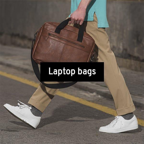 Laptop bags for men by Misako