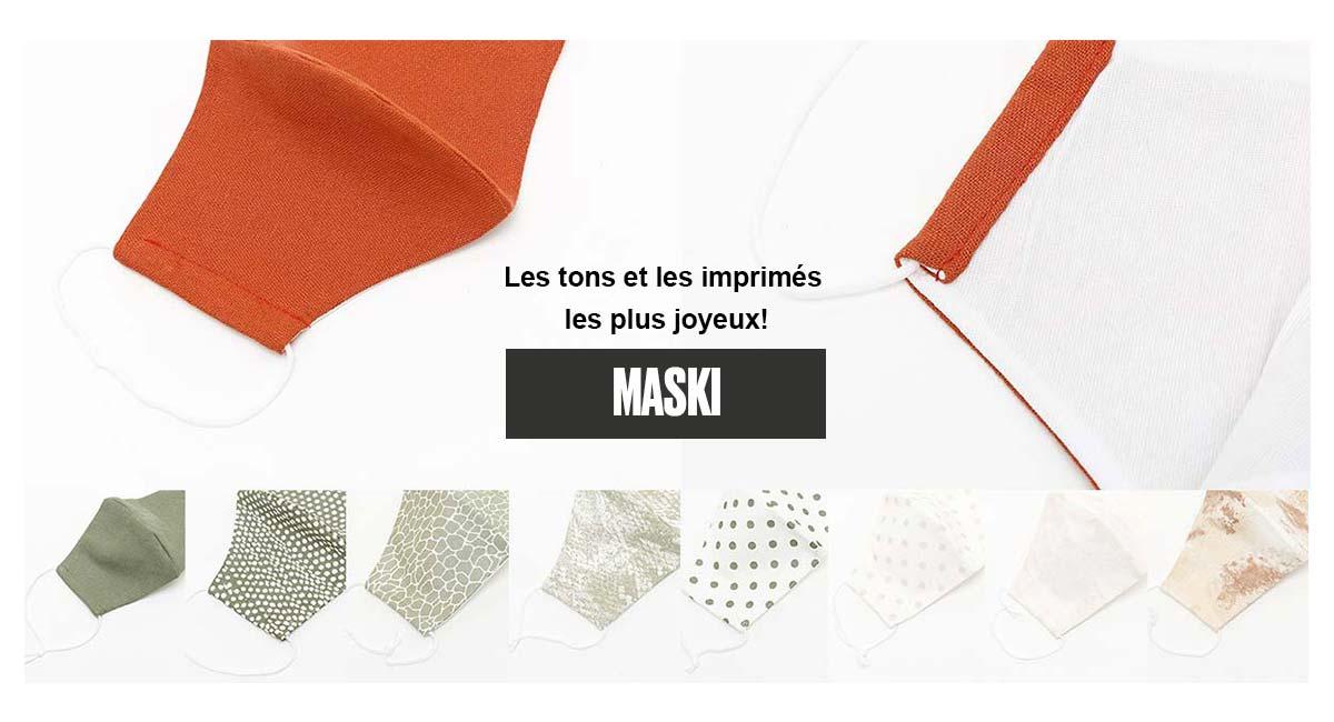 Masques MASKI de Misako