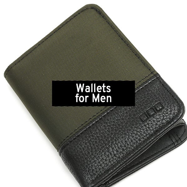 Wallets for men by Misako