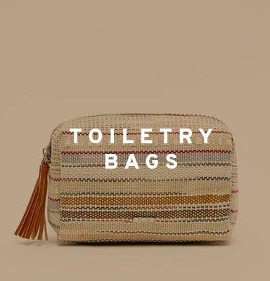 Toiletry bags by Misako