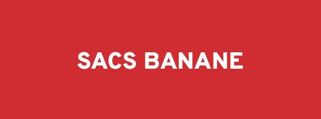 Sacas banane soldes de Misako