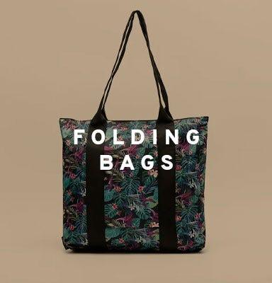 Folding bags by Misako