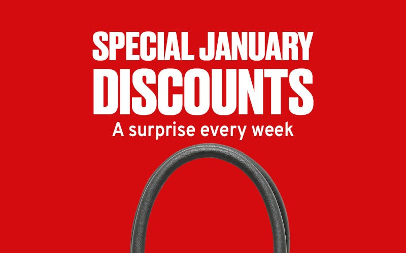 Special January discounts by Misako
