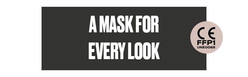 Reusable hygienic masks by Misako
