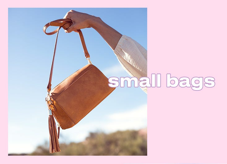 Cheap small bags on offer