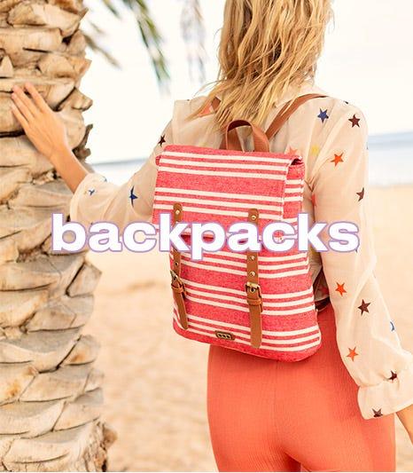 Cheap backpacks on offer