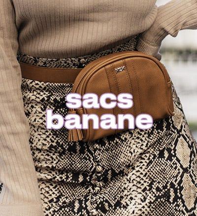 Sacs banane bon marché en vente