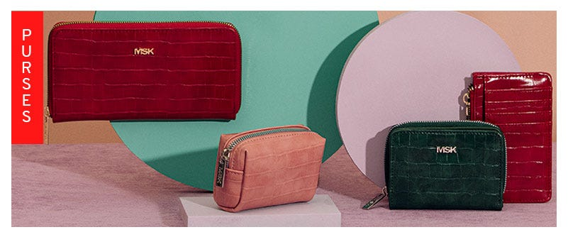 Wallets and purses on sale by Misako