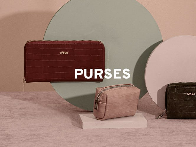 Cheap purses on offer