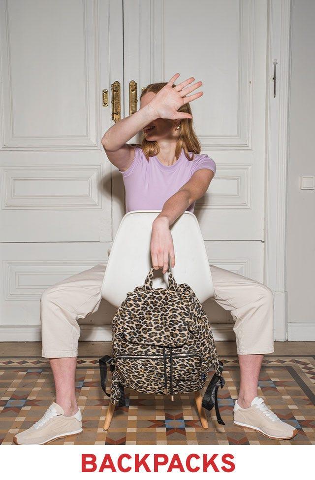 Backpacks on sale by Misako