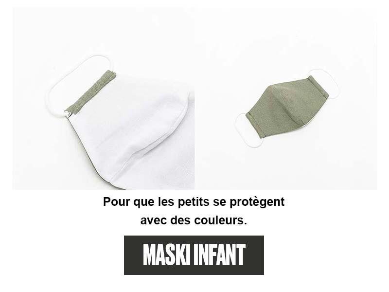 Masques MASKI pour enfant