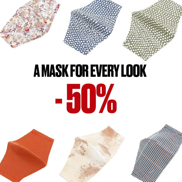 Hygienic and reusable printed masks on offer from Misako